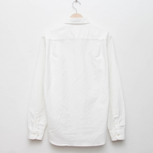 Oxford Shirt - White - cup and cone WEB STORE