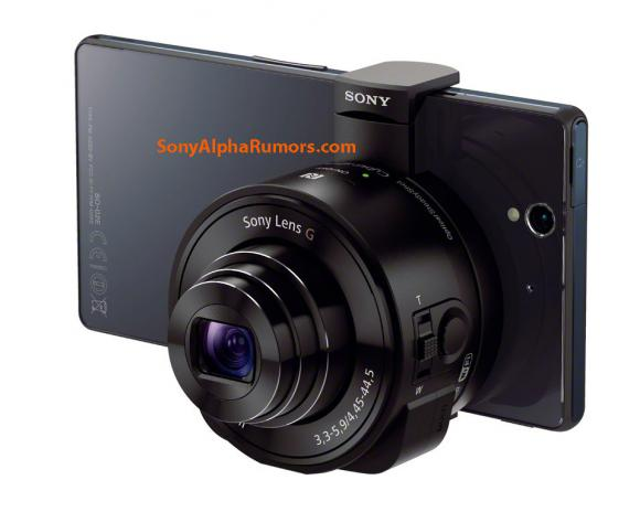 Leaked press shots show Sony's upcoming 20.2MP, Carl Zeiss camera lens attachment for iPhone & Android | 9to5Mac