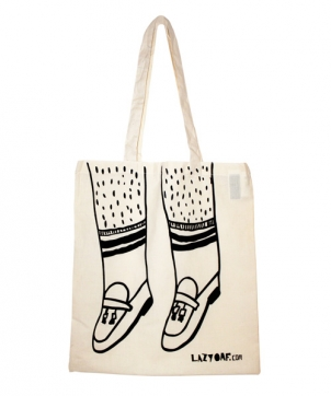 Lazy Oaf | Lazy Oaf Loafers Tote Bag