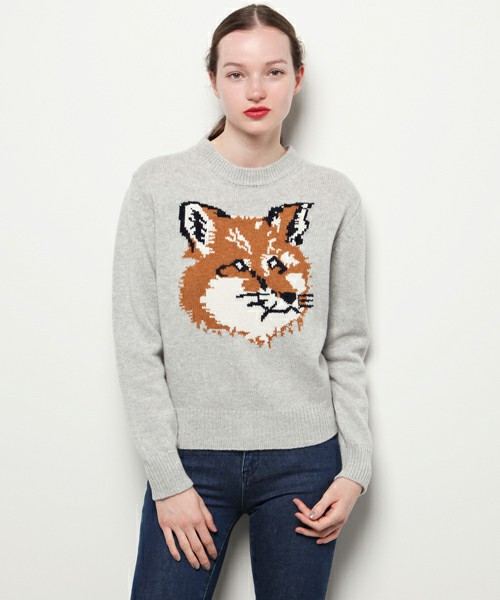 FOX HEAD PULLOVER|MAISON KITSUNÉ MEN|J'aDoRe JUN ONLINE(ジャドール ジュン オンライン)