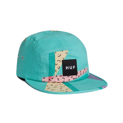 HUF - 1986 BOX LOGO VOLLEY (Electric Blue) - Growth skateboard elements