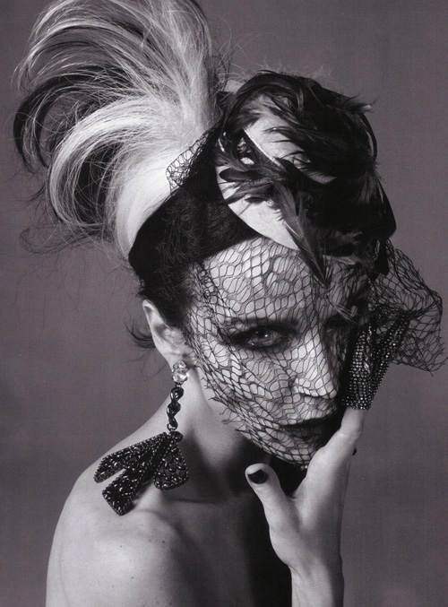 Monday Inspiration. Muse, Couture Patron Daphne Guinness. | Tokyo Fashion Diaries