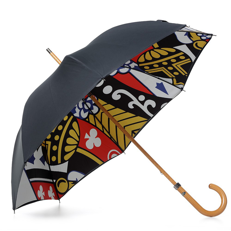 London Undercover King Of Clubs Double Layer Umbrella   IAMFATTERTHANYOU.COM
