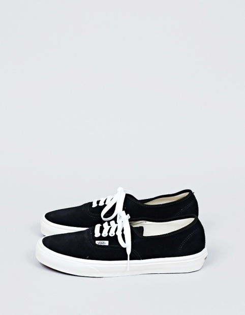 Vans Authentic Suede Black - Nitty Gritty Store