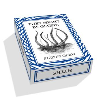They Might Be Giants - TMBG Playing Cards - Accessories - Official Merch - Powered by MerchDirect
