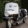 1958 CZ Cezeta 501 :: By Austin Paintworks | Megadeluxe | For The Love of Speed, Sport & Design