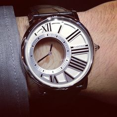 #Cartier Rotonde awesome. | Timepieces x Jewelry