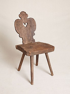 Free People Clothing Boutique > Vintage Wooden Carved Chair