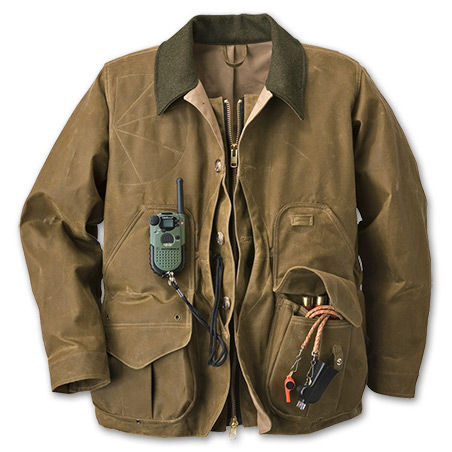 Tin Cloth Field Coat with Zipper | Filson