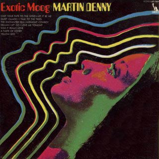 Review: Martin Denny – Exotic Moog: Cold and Sexy | tunequest: music reviews and itunes too!