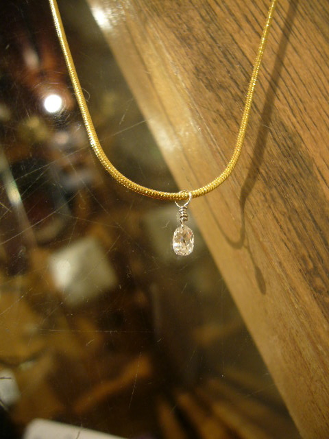 Jeanine Payer - Jeanine Payer(ジニーンペイヤー)ネックレス White Diamond Briolette - Rollot OnlineShop