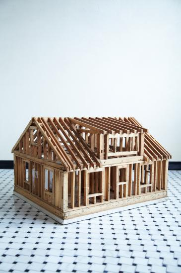 COMPLEX/商品詳細 WOODEN HOUSE MODEL