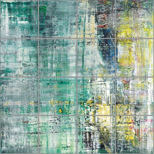 Gerhard Richter » Art » Editions » Cage Grid (Single Part A) » 152