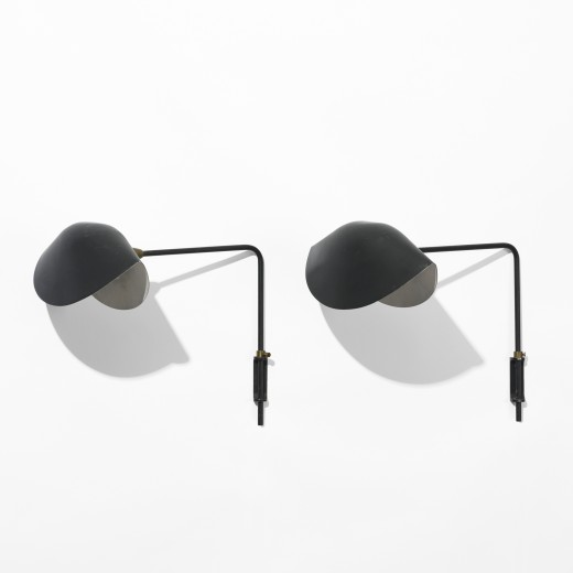 290: Serge Mouille / Antony sconces, pair < Modern Design, 23 March 2010 < Auctions | Wright