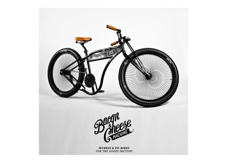 Creative Boys Club » McBess x The Dudes Factory – Bacon & Cheese Machine / Cold Adam Collection