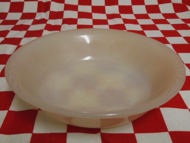 Fire King Ivory 1700 Line Oatmeal & Cereal Bowl #70 | Jadeite Magic Gallery