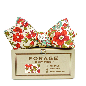 hunter floral {bow tie}