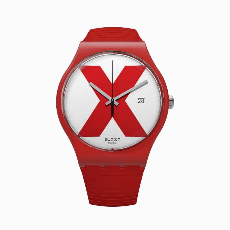 Swatch® 日本 - New Gent (ニュー・ジェント) XX-RATED RED SUOR400