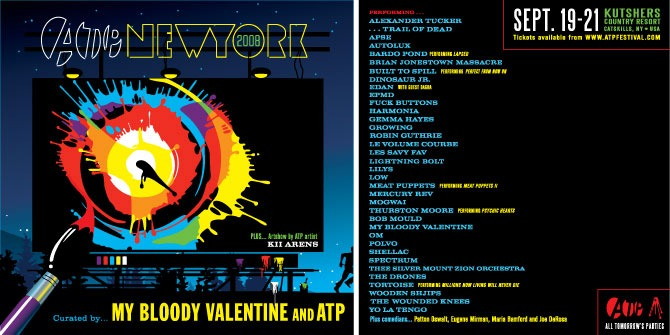 ATP New York curated by My Bloody Valentine & ATP - All Tomorrow's Parties