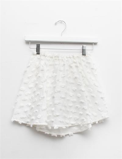 Creatures of Comfort Lil Simone Skirt - Puff Cotton White