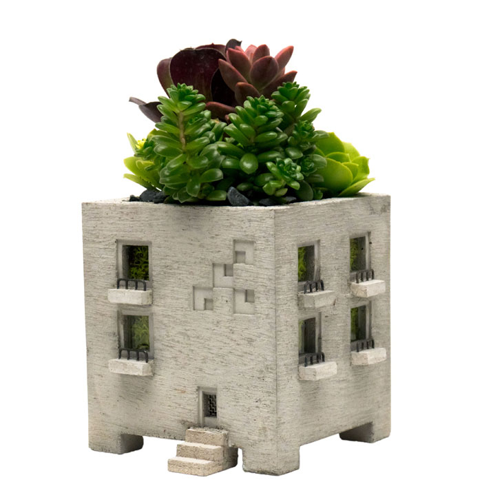 A+R Store - Miniature Concrete Planter - Product Detail