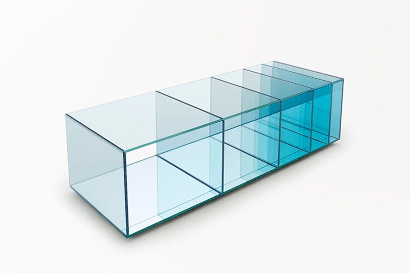 nendo: deep-sea + mirror-chair collections for glas italia