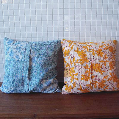 Kantha cushion cover - QUICO WEB SHOP