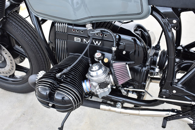 Cut Snake - BMW R100RT café racer | Return of the Cafe Racers
