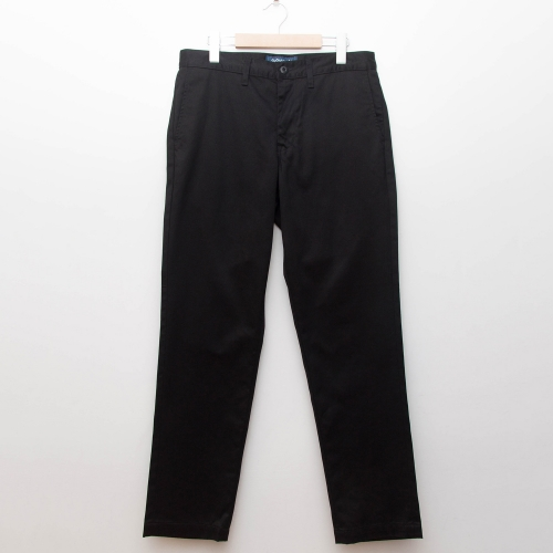 Custom Fit Chino Pants - Black - cup and cone WEB STORE