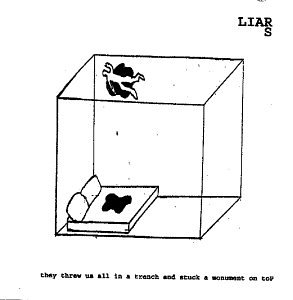 Amazon.co.jp: They Threw Us All in a Trench & Stuck a Monument O: Liars: 音楽