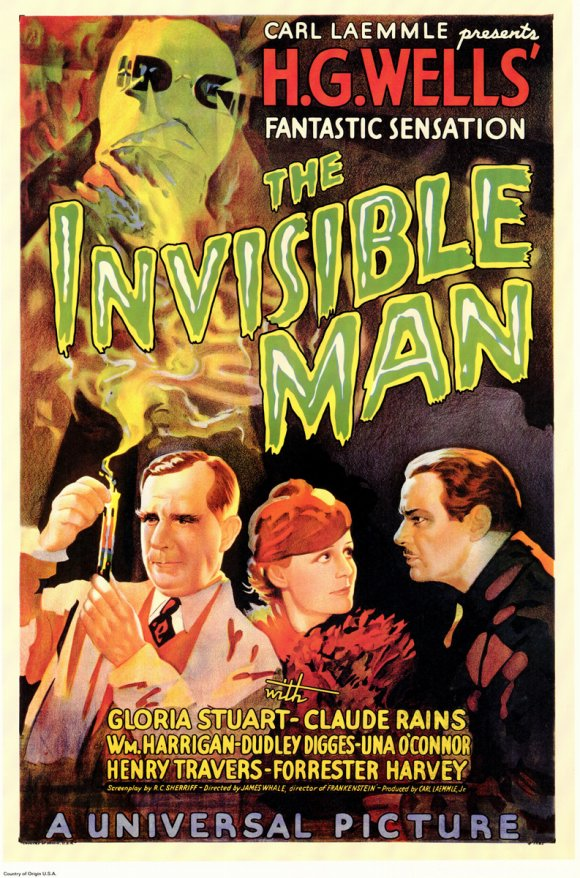 The Invisible Man movie posters at MovieGoods.com