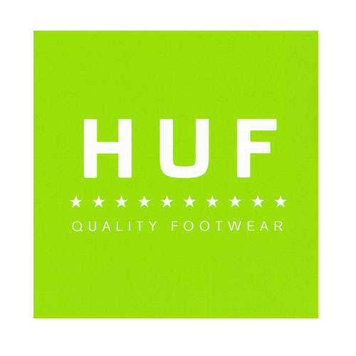 HUF - QUALITY FOOTWEAR (Green) - Growth skateboard elements
