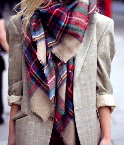 STYLE IN THE CITY / plaid