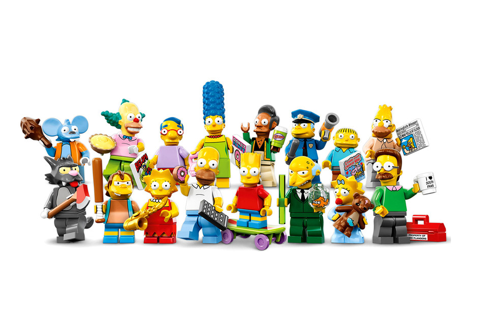 The Simpsons x LEGO Minifigures Set - FreshnessMag.com