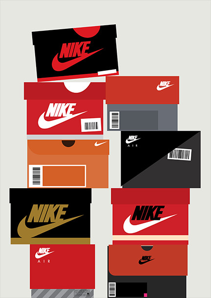 Print-Process / Product / Sneaker boxes - N