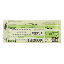 Browsing Store - Airline Ticket Tray