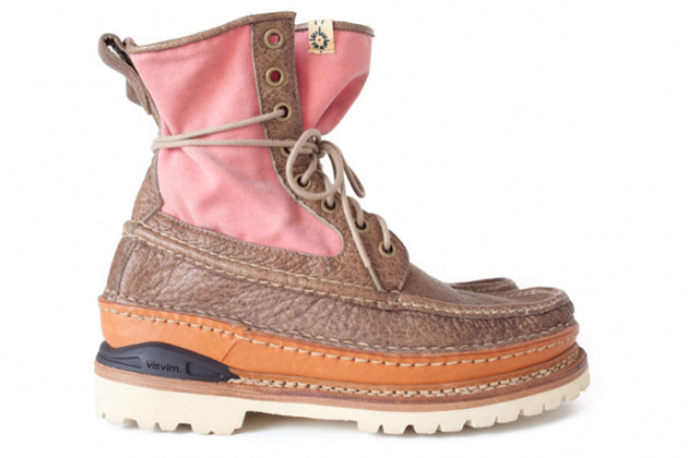 visvim Grizzly Boots Mid-Folk Fall Winter 2012