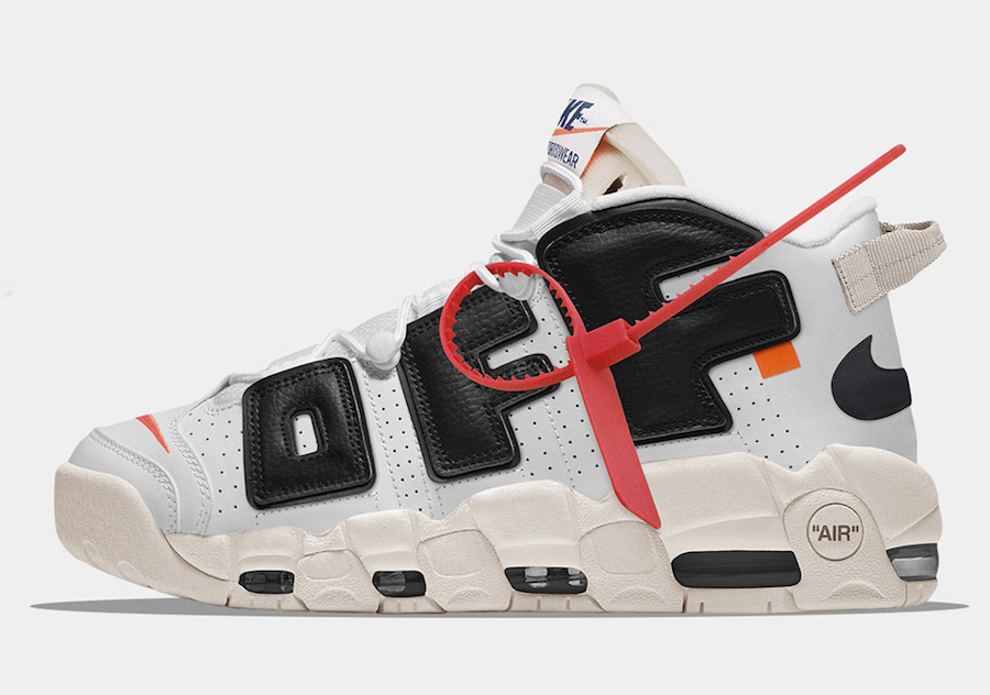Off-White x Nike Air More Uptempo Concept - Sneaker Bar Detroit