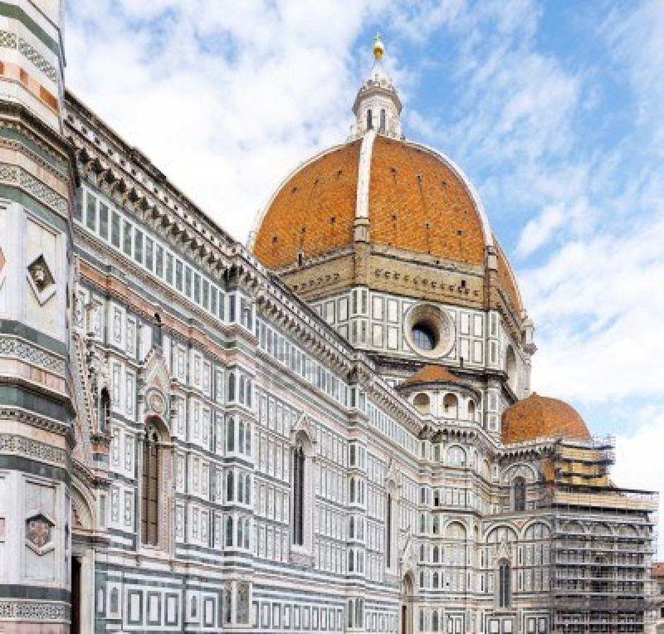 Duomo Santa Maria Del Fiore And Campanile. Florence, Italy Royalty Free Stock Photo, Pictures, Images And Stock Photography. Image 10202570.