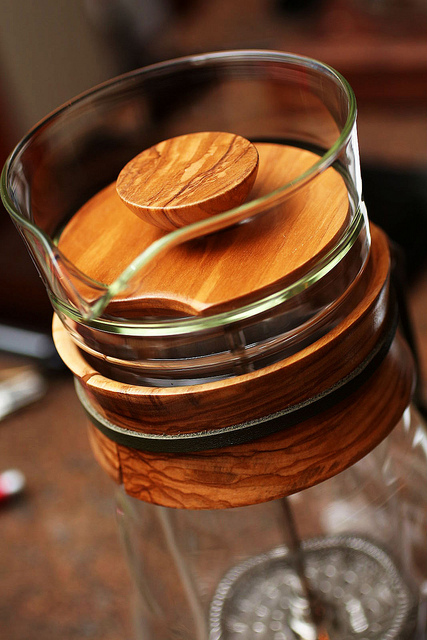 The Olive Wood Press Pot | Flickr - Photo Sharing!