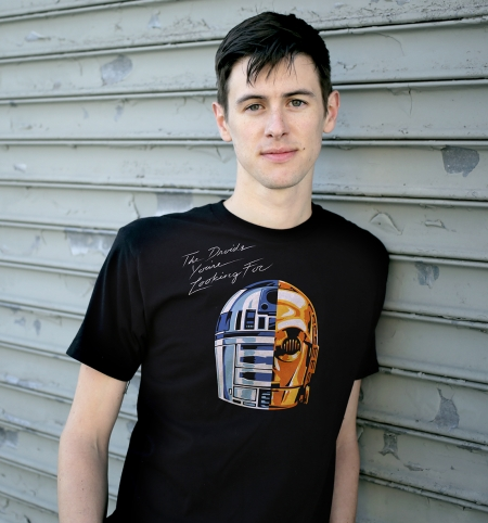 Daft Droid - BustedTees | BustedTees