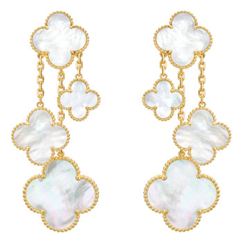 Betteridge: Van Cleef & Arpels Magic Alhambra Earclips