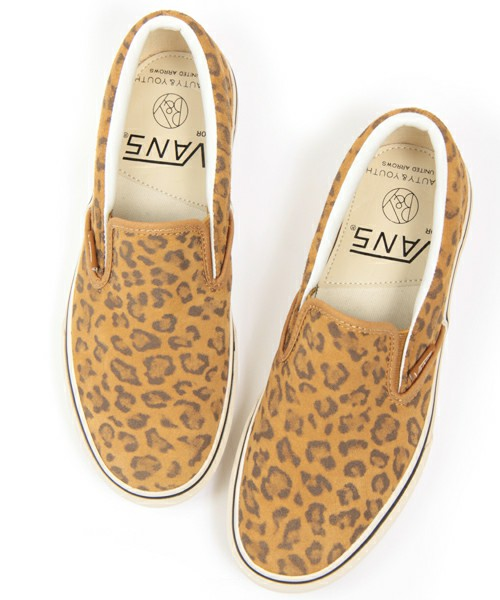Beauty & Youth x Vans Leopard Slip-On Sneaker | Highsnobiety.com