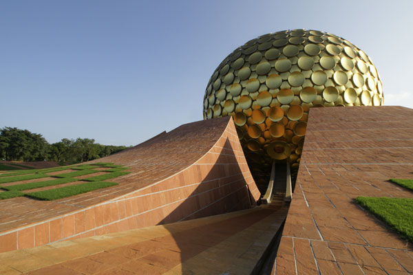 Auroville belongs to nobody in particular - but does it float