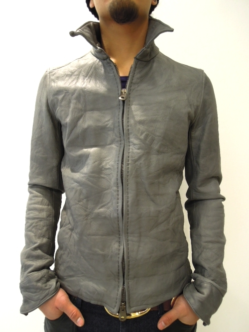 12s/s LEATHER COLLECTION ⑤ / ZIP SHIRTS JACKET ②|junhashimoto NAGOYAのブログ