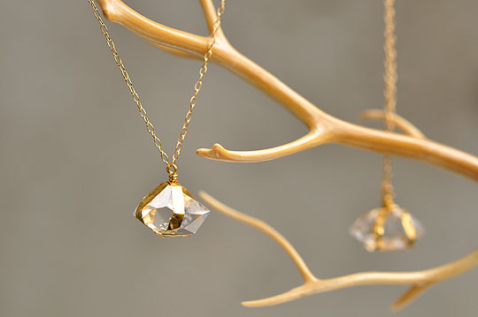 Herkimer Diamond Necklace - SOURCE - SOURCE objects