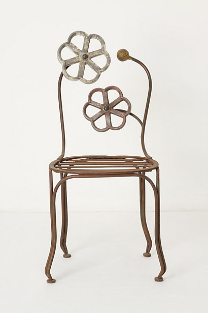 Blacksmith Blossom Chair - Anthropologie.com