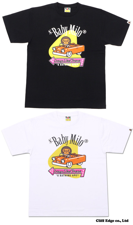【楽天市場】A BATHING APE MILO AMERICAN CAR TEE [Tシャツ] 200-005541-040[2080-110-088]- 【新品】:Cliff Edge