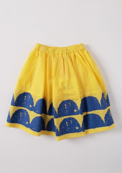 Line+Liv — BOBO CHOSES ° Wave skirt yellow [ SPRING ]