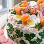 Smorgastarta - Swedish Sandwich Cake | Panini Happy®
